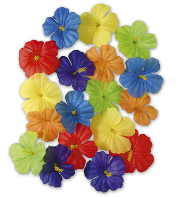 HIBISCUS FLOWERS 18PC