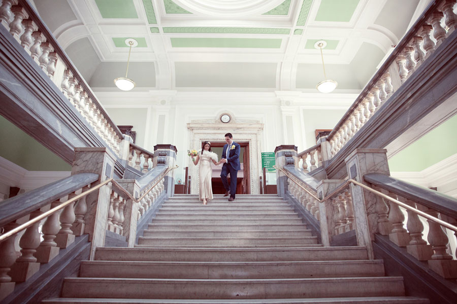 Sima & Till ♡ Islington Town Hall, Benares Mayfair, London Wedding