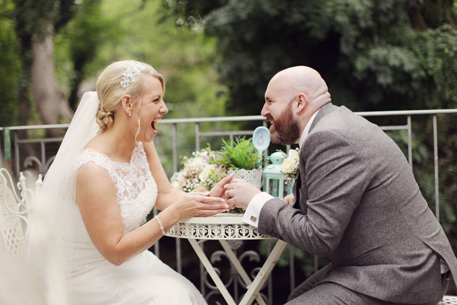 Riley's The Potting Shed Barnsley alternative intimate Yorkshire wedding venue with animals and natural wedding photography
