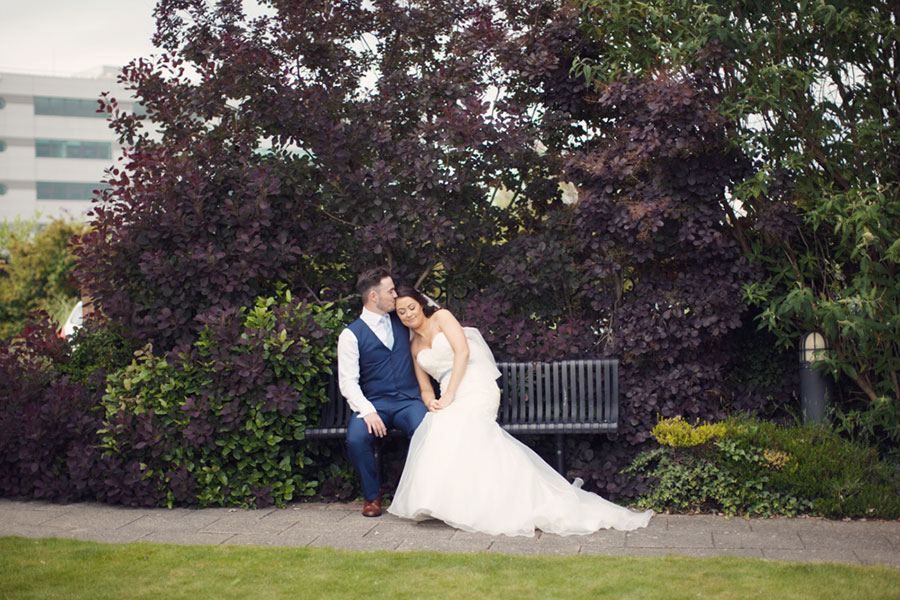 A beautiful natural photography wedding at The Royal Victoria Holiday Inn in Sheffield