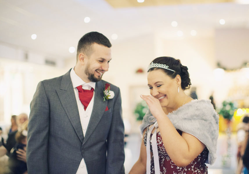 Lorna & Akram ♡ The Fairway Pub, Barnsley Wedding