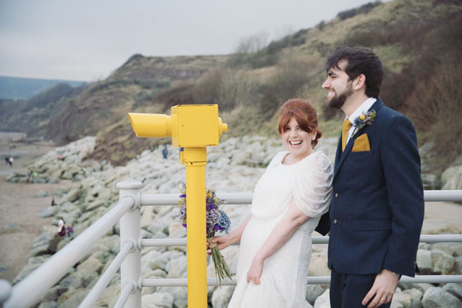 Gemma & Ian ♡ Secret Seaview Chapel & Fylingdales Village Hall, Robin Hoods Bay Wedding
