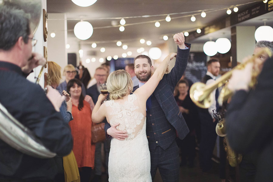Sarah & Dan ♡ Leeds Town Hall & The Tetley, Leeds Wedding