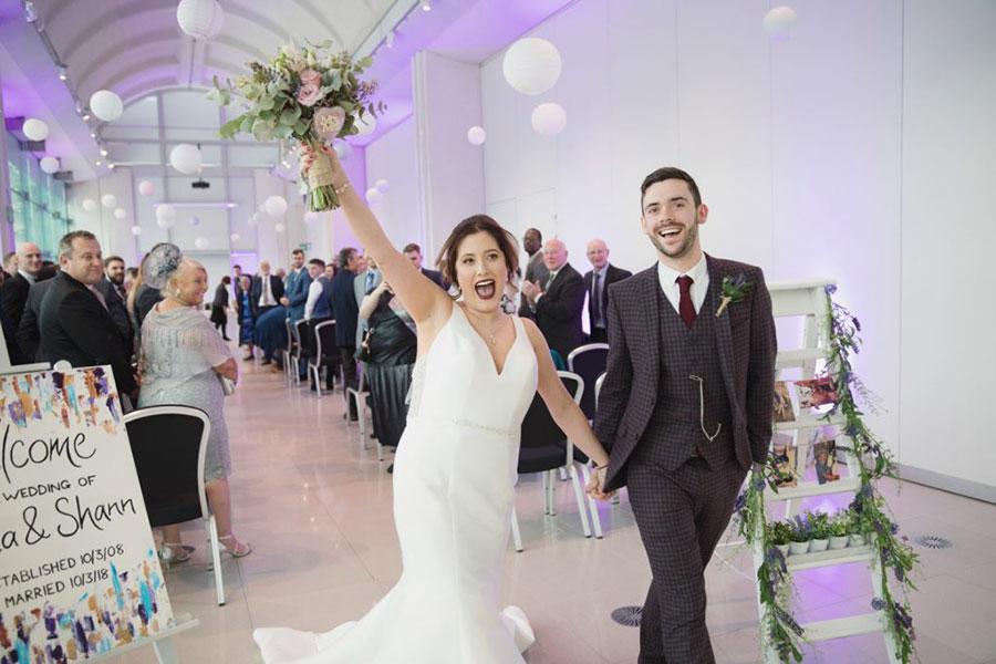 Erica & Shann ♡ Millennium Gallery, Sheffield Wedding