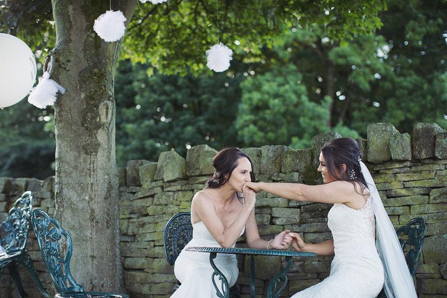 Leigh & Laura ♡ Cubley Hall, Sheffield Wedding
