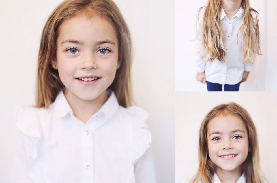 Mila ♡ Child Model Headshots