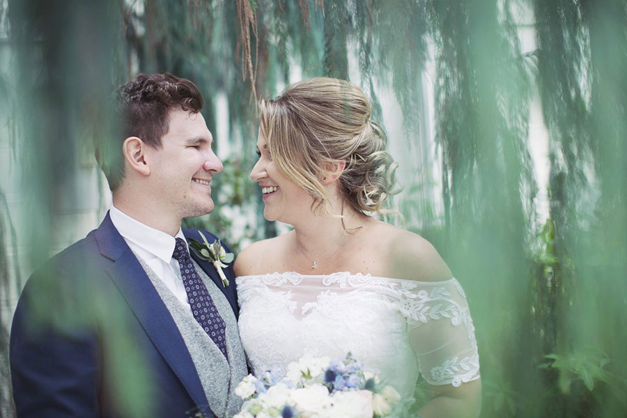 Sara & Ben ♡ Sheffield Botanical Gardens Wedding