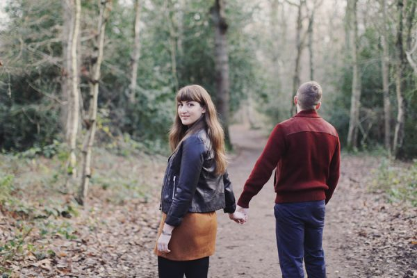 Engagement shoot at Sheffield Ecclesall Woods | Romantic & Gorgeous | Natural photography couple photoshoot
