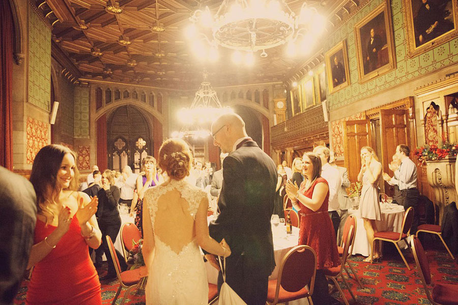 Manchester Town Hall natural wedding photography by Sasha Lee Photography