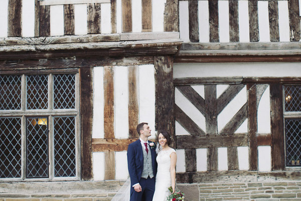 Adlington Hall wedding traditional English venue