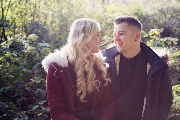 Rivelin Valley Nature Trail engagement shoot | couple photoshoot | Sheffield wedding photographer | Woodland pretty park in Sheffield South Yorkshire