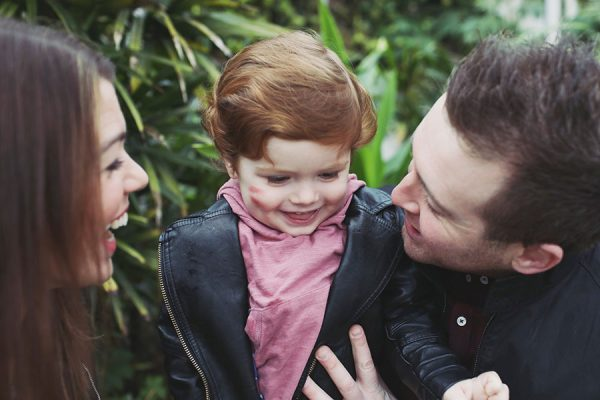Sheffield family photoshoot photographer | Yorkshire family photoshoot | Sheffield Botanical Gardens photoshoot | Cute natural red hair boy