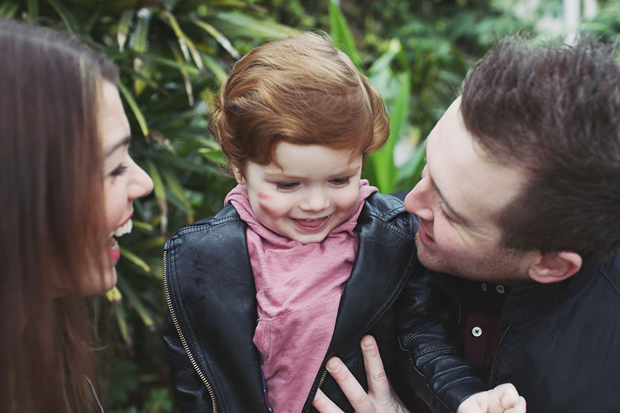 Beth & Josh ♡ Family Photoshoot, Sheffield Botanical Gardens