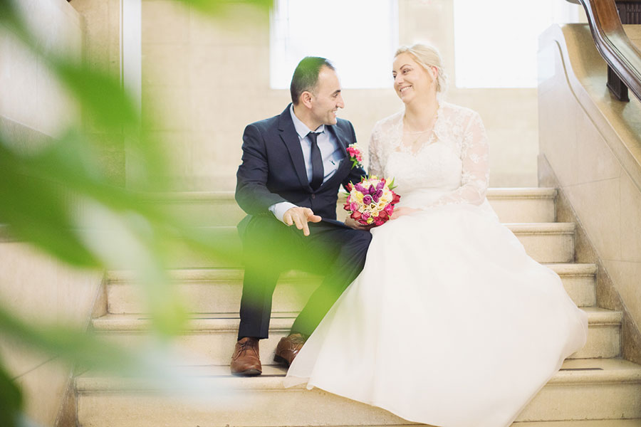 Ed & Marta ♡ Chesterfield Town Hall, Wedding