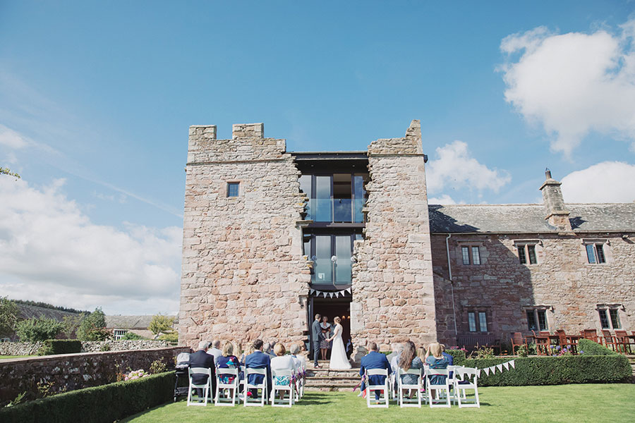 Aimee & Daniel ♡ Blencowe Hall, Lake District Wedding