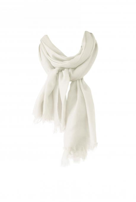 Image of Cashmere Scarf | Ivory