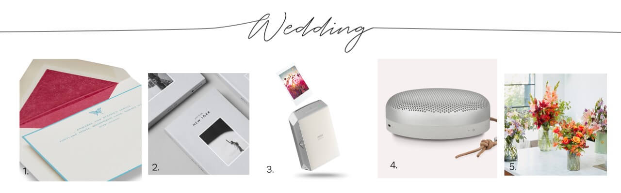 Thoughtful and unique wedding gifts | Sassi Holford Magazine