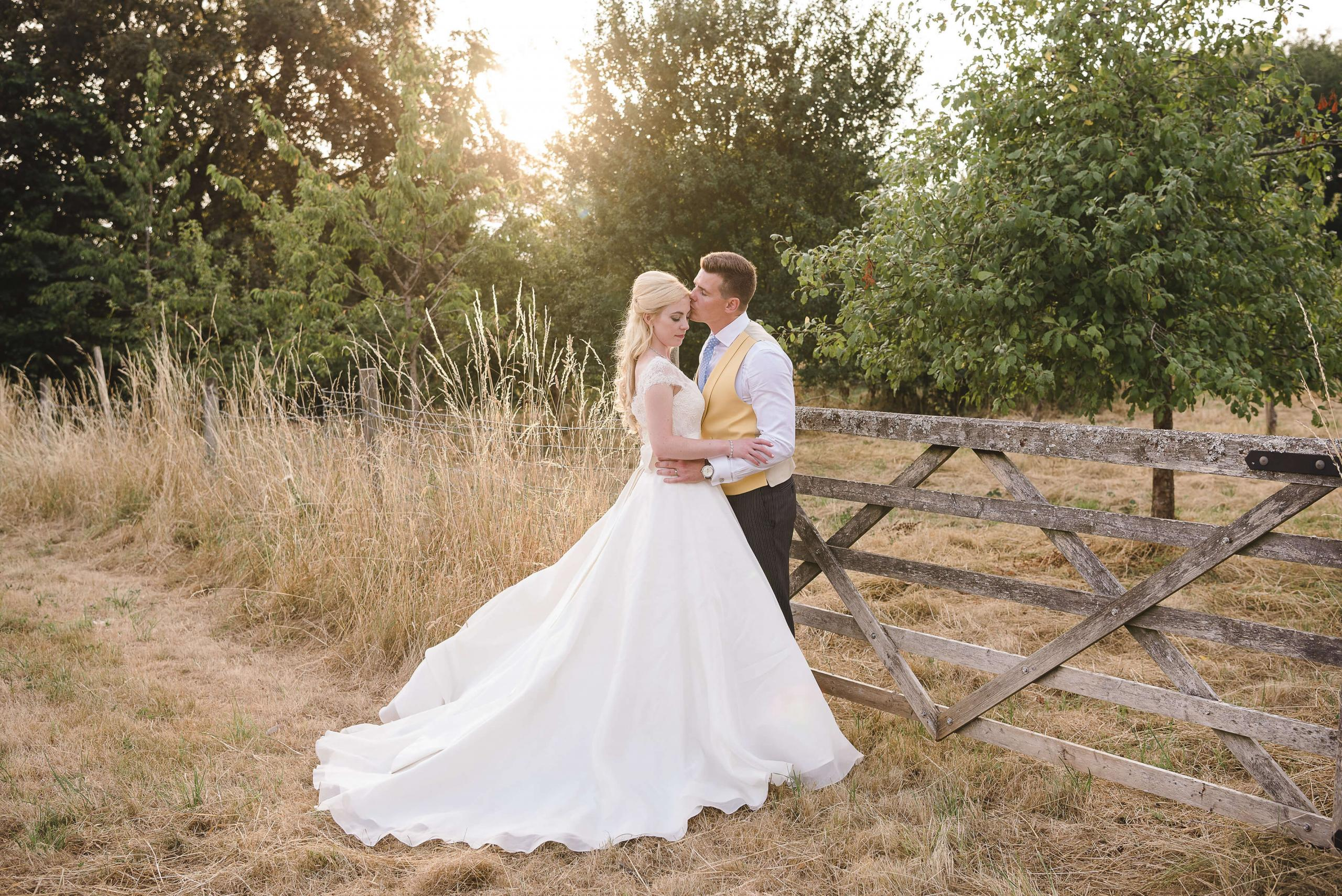 Alexandra in Sassi Holford wedding dress
