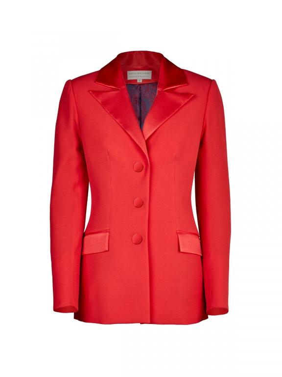 Sassi Holford Boston blazer in flame