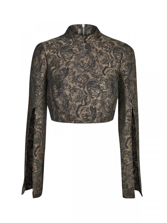 Sassi Holford Damascus Jacket Charcoal