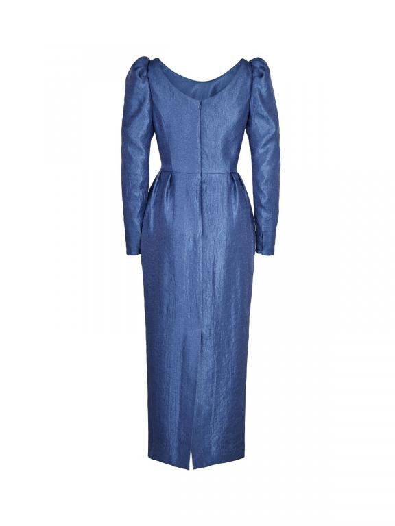 Sassi Holford Lisbon dress in indigo