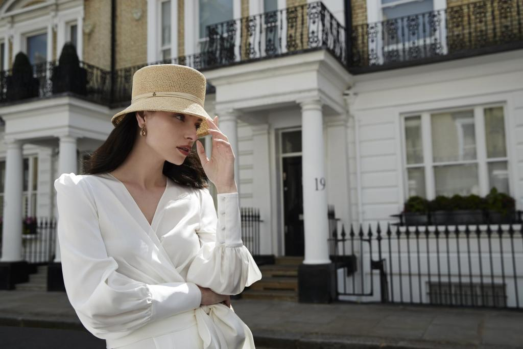 Sassi Holford silk wrap blouse