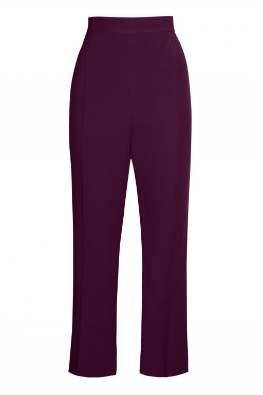 Sassi Holford Boston Trousers in Aubergine