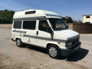 Talbot express autosleeper 4 berth camper turbo diesel with power steering mot