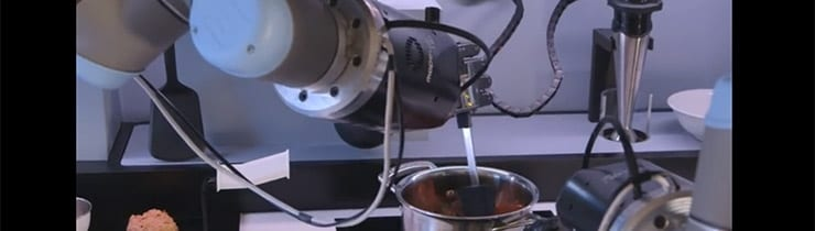 Robot Chefs Coming to Domestic Kitchens