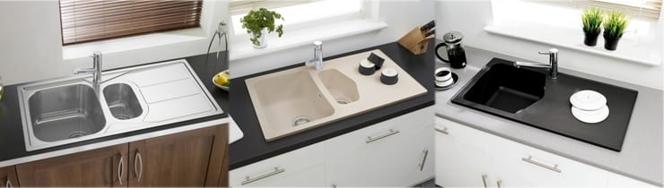 New Astracast Dart and Elan Sinks