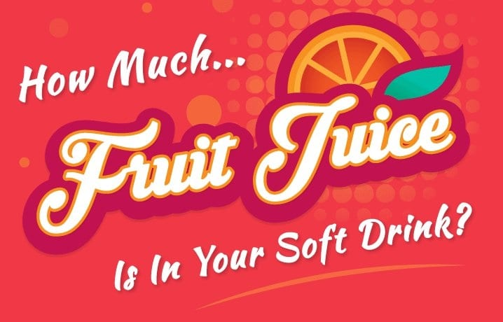 How Much Fruit Is In Your Soft Drink?