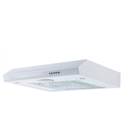 SIA ST60WH 60cm Visor Cooker Hood Kitchen Extractor Fan in White