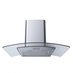 SIA SO102 60cm Electric Fan Oven, 4 Burner Gas Hob & Curved Glass Cooker Hood