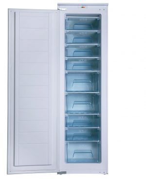 SIA RFI108 228L White Integrated Built In Tall Larder Freezer With Fast Freeze