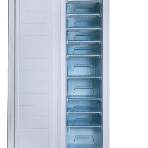 SIA RFI108 Integrated Built In 228L Tall Larder Freezer With Fast Freeze |  A+