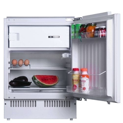 SIA RFU102 Integrated 117 Litres Capacity Under Counter Larder Fridge & Ice Box