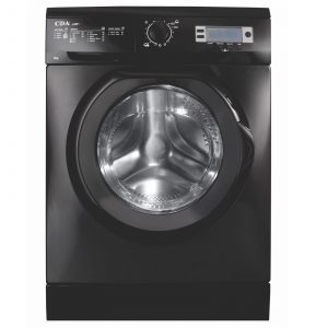 CDA CI261BL Free Standing High Capacity Twin Jet Washing Machine in Black A+++