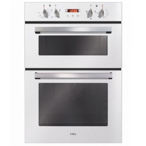CDA DC940WH Built in Double Fully Programmable Electric Oven in White