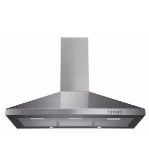 CDA ECH91SS 90cm Stainless Steel Chimney Cooker Hood Extractor Fan
