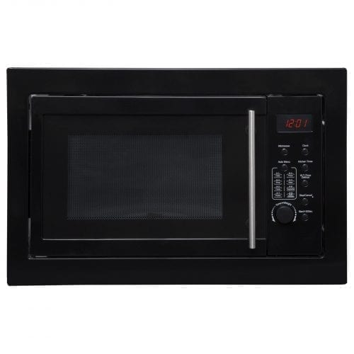 SIA BIM20BL Black 20L Integrated Built in 700W Digital Timer Microwave Oven