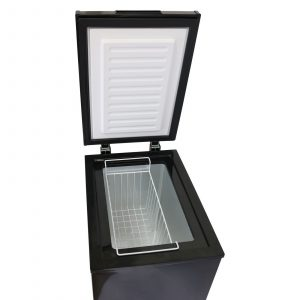 SIA CHE60BL 43cm Black 61L Freestanding Chest Freezer With A+ Energy Rating