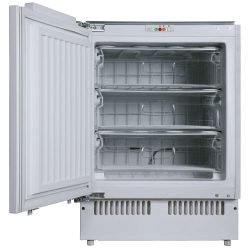 SIA RFU103 60cm 102L White Integrated Under Counter 3 Drawer Freezer A+ Rating