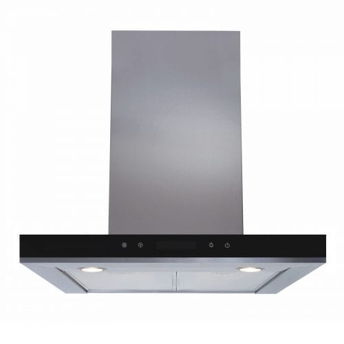 SIA LIN61SS 60cm Stainless Steel Linear LED Touch Control Cooker Hood Extractor