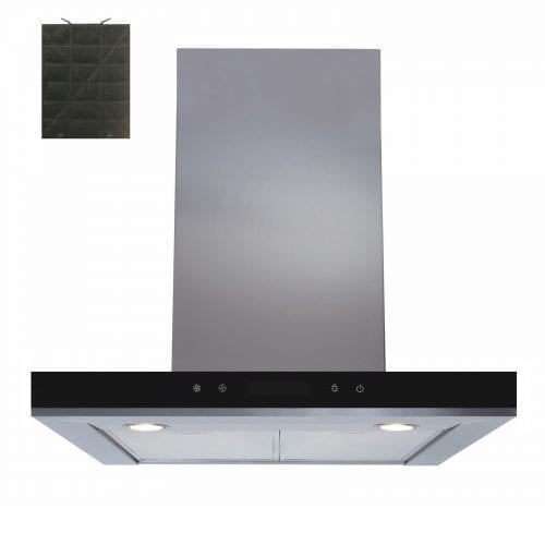 SIA 60cm Stainless Steel Linear Touch Control Cooker Hood Fan & Charcoal Filter