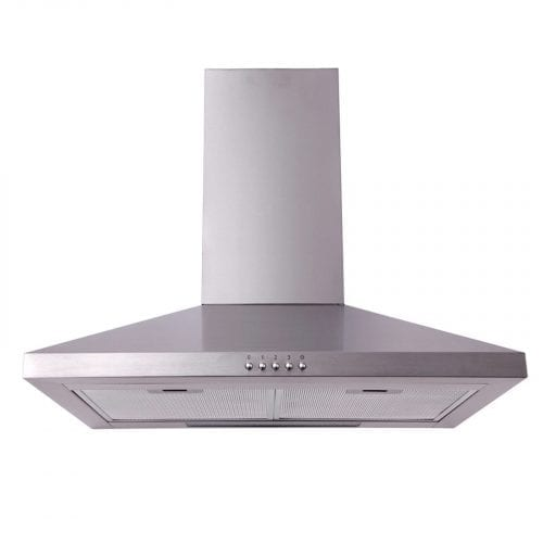 SIA 60cm Chimney Kitchen Cooker Hood Extractor Fan In Stainless Steel