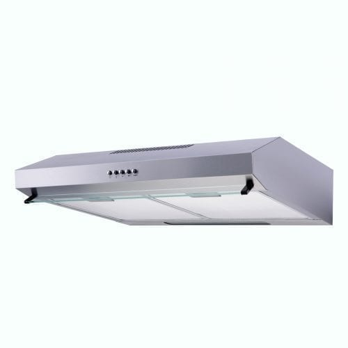 SIA V50SS 50cm Visor Cooker Hood Kitchen Extractor Fan In Stainless Steel