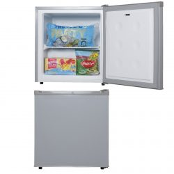 SIA TT02SV 38 Litre Silver Counter Table Top Mini Freezer With A+ Energy Rating