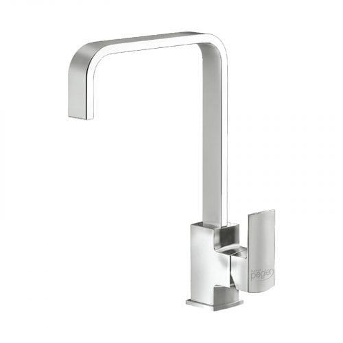 Schock Lithos D150 1.5 Bowl White Granite Sink & Reginox Astoria Mixer Tap