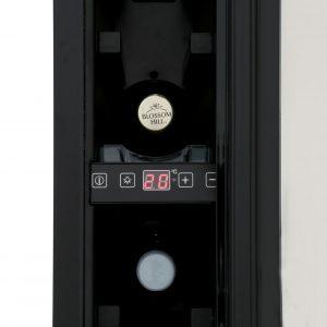 CDA FWC303BL 30cm 20 Bottle Free Standing Under Counter Wine Cooler In Black