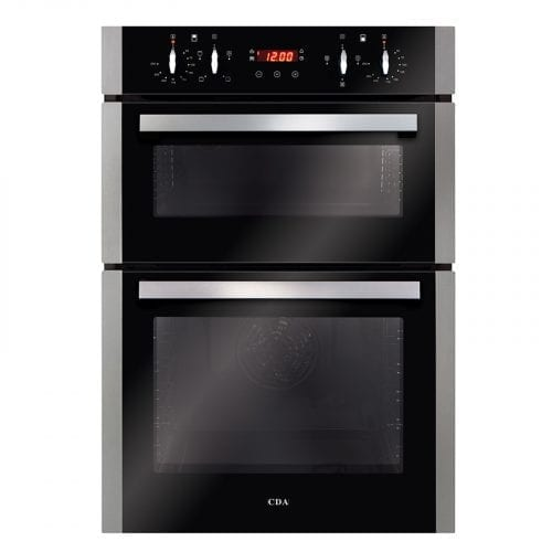 CDA DC940SS Built in Fully Programmable Double Electric Oven in Stainless Steel